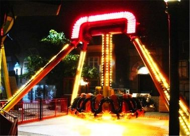 60 Degree Cool Theme Park Rides , Customized Seats Small Amusement Rides