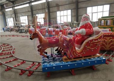 Santa Clause Design Kiddie Train Ride 3/4/5 Cabins For Small Sized Squares