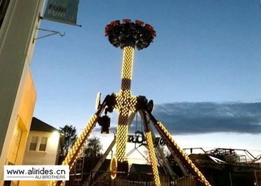 Upper Transmission Spinning Pendulum Ride , 12P Pendulum Rides Amusement Parks