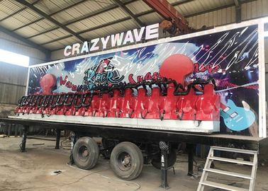China Anti Rust Paint Trailer Mounted Rides With 5-6 Layers FRP And GB Steel Material supplier