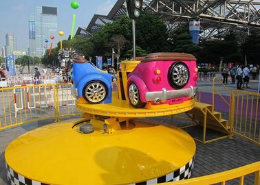 Customized Color Tagada Funfair Ride BV Certification For Thrill - Seeker