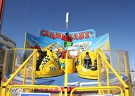 380V Tagada Funfair Ride With Central Rotating Hub And Counter Rotating Arms